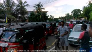 Sri Sumangala College - Panadura Bus Donation Parade Arrving To The College