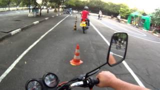 Percurso DETRAN SP - Moto