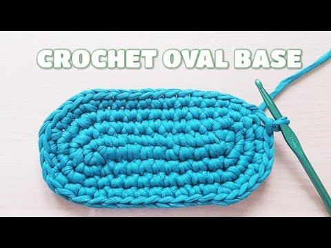 CROCHET OVAL BASE (NO BG MUSIC)