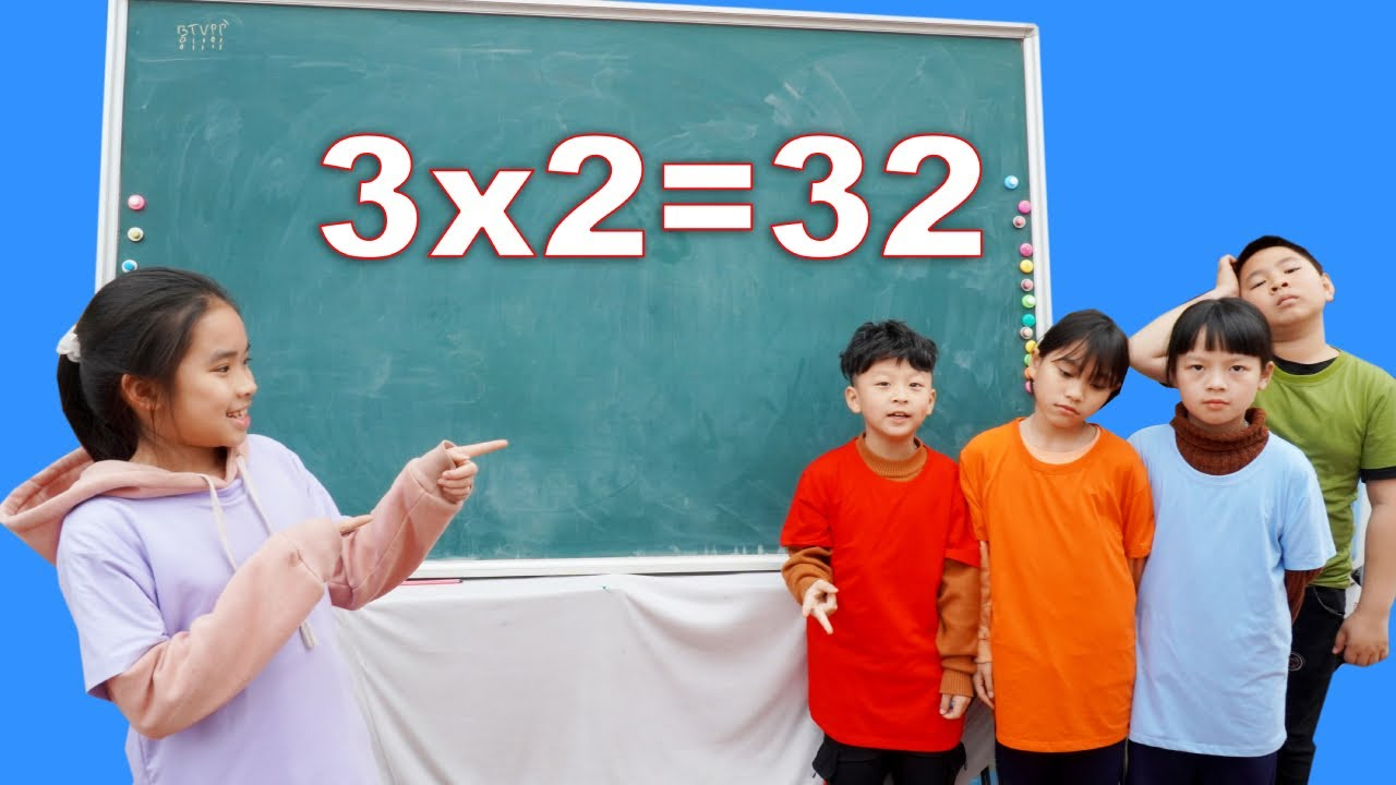 Exciting Kid Learn Math and Numerals For School ③ + ⓶ = ❸ ❷ Math Test & Exams HCN Go School