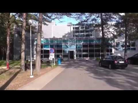 Varska  hotel & vater park. Põlva County, Estonia (overview)