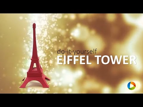 DIY: Eiffel Tower with a hidden box ;)