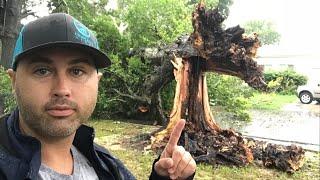 We Survived Tropical Storm GORDON!