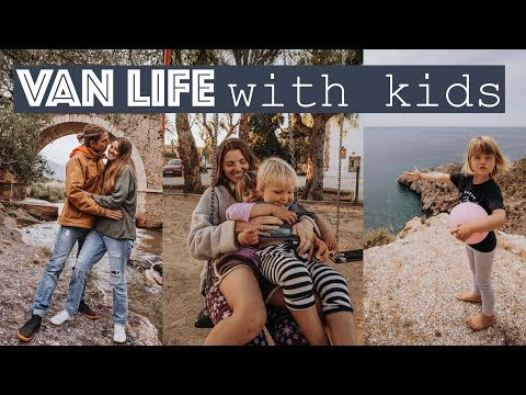 A WEEK IN OUR VAN LIFE with kids on the Spanish Coast