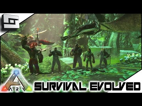 ARK: Survival Evolved - SWAMP CAVE COMPLETE! S3E91 ( Gamepla