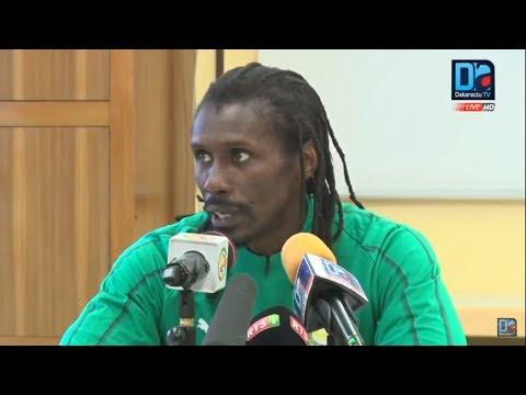 [REPLAY-LUXEMBOURG ] Revivez la conférence de presse du coach Aliou Cissé