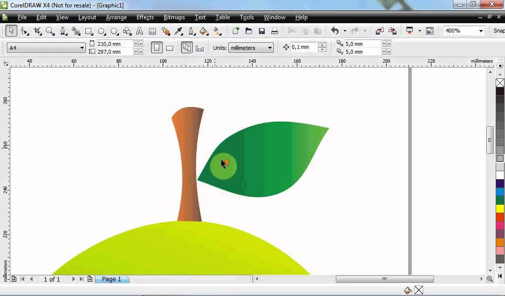 Cara Membuat Gambar Mangga Di Coreldraw Step By Step Youtube