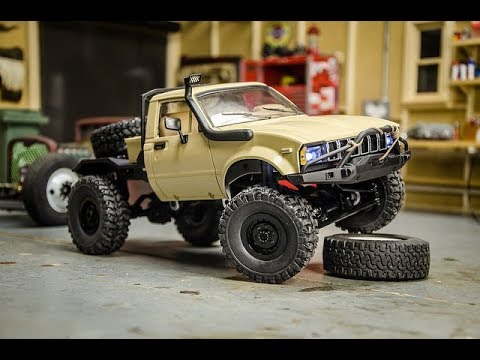 modifying the wpl 1 16 scale toyota hilux rc crawler. Black Bedroom Furniture Sets. Home Design Ideas