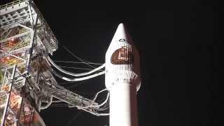 """بالفيديو: إطلاق صاروخ """"أطلس 55"""" حاملاً قمر تجسس أمريكي"""