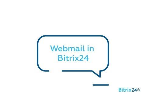 Webmail in Bitrix24