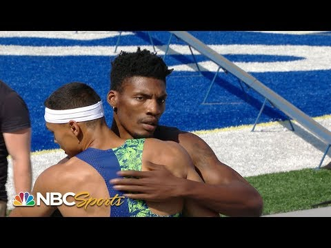 Upset in men's 400m at USATF Outdoor Championships | NBC Sports