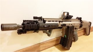 SCAR L WE (Airsoft) GBB Custom