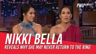 Nikki Bella Reveals Why She Can No Longer Wrestle Anymore
