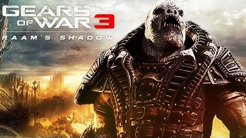 gears of war 3 raams shadow game movie all cutscenes hd