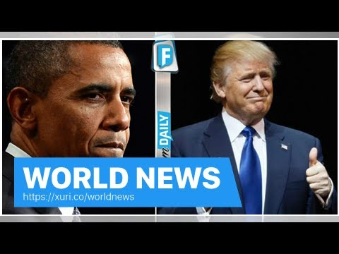 World News - Obama swore cannot and refuse to do it it for 8 years-Trump just did it before the end