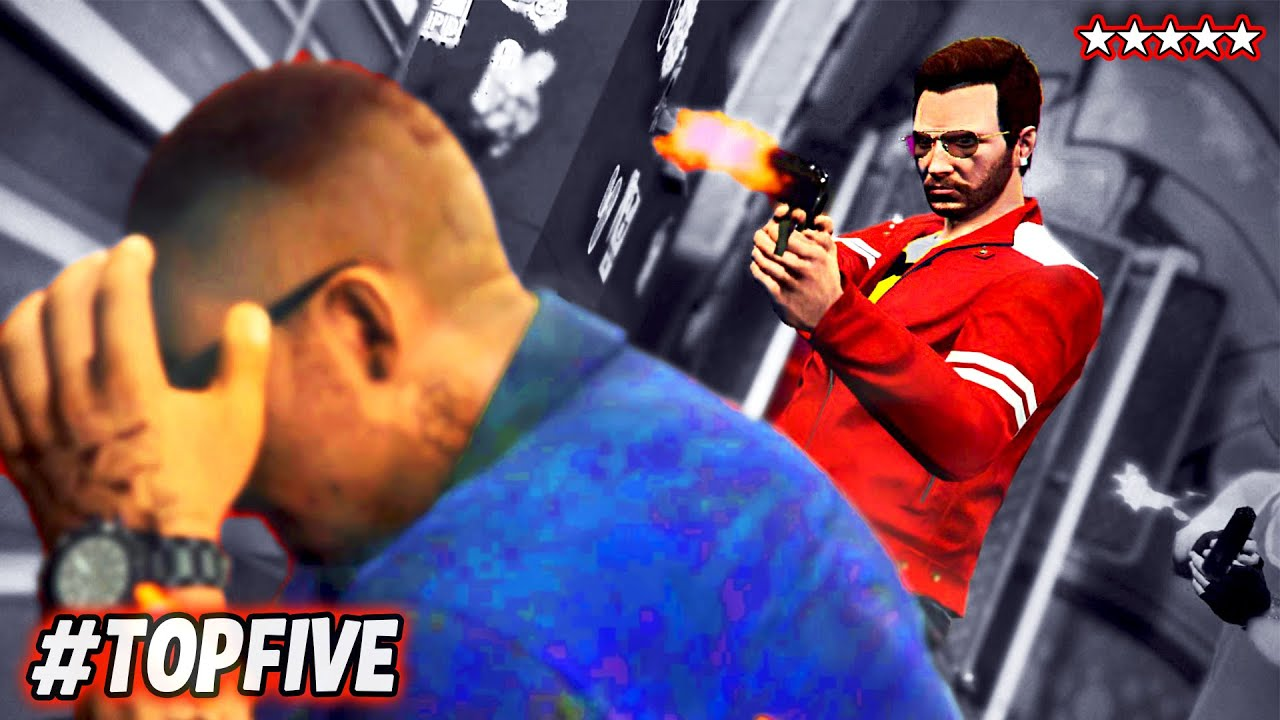 GTA 5 TOP FIVE Moments of the ...