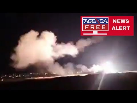 Israel Air Strikes on Syria Reported - LIVE COVERAGE