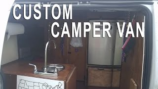 Van Tour Custom Chevy Express Camper Van Conversion