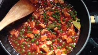 Ведическая кухня.Панир в томатах . Вегетарианские рецепты