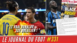 VIDEO: IBRAHIMOVIC cartonne Cristiano RONALDO, la réponse de LUKAKU au journal Italien