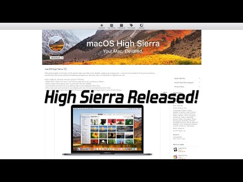 Everything you need to know about Apple's macOS High Sierra release