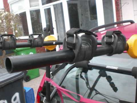 Halfords High Mount 3 Cycle Carrier Youtube