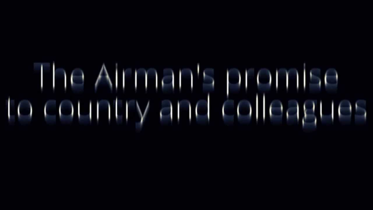 Learn the airmans creed youtube altavistaventures Images