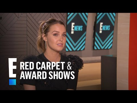 Camilla Luddington Talks Working With Matthew Morrison  E! Live from the Red Carpet