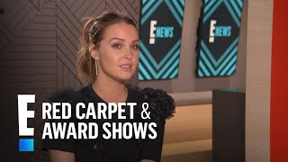 Camilla Luddington Talks Working With Matthew Morrison | E! Red Carpet & Live Events