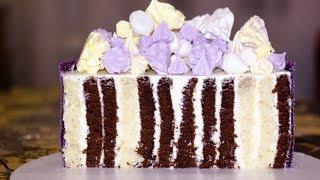 ШИКАРНЫЙ ТОРТ СВОИМИ РУКАМИ. Простой рецепт торта - рулета.  Быстрый и простой рецепт торта