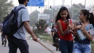 Funny Pranks - Blind Man Prank  | The Gabruz ft. AVRprankTV | Pranks in India