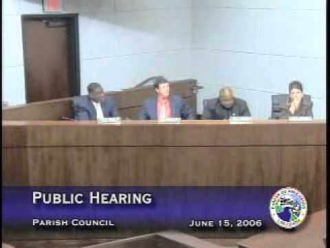 Parish Council - June 15, 2006