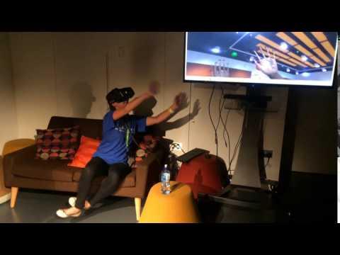 Sackler Centre virtual reality task