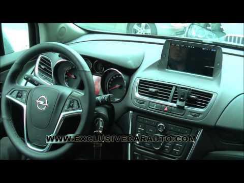 "8"" Radio DVD GPS Android QuadCore para Opel Mokka"