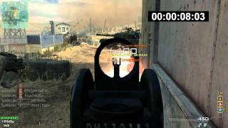 MW3 Worlds Fastest MOAB 10.22 Seconds (Fake)