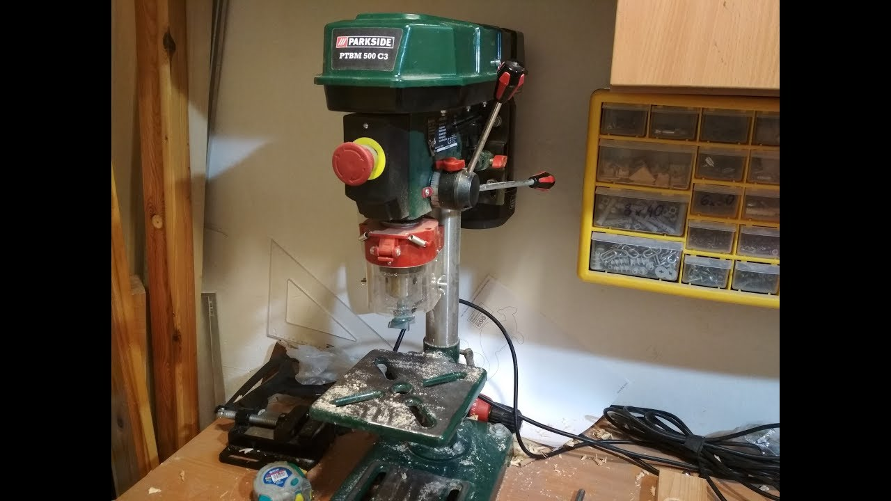 Parkside Bench Pillar Drill By Howto Xyz
