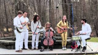 "Garden Sessions: Arc Iris - ""Money Gnomes"" - Radio Woodstock 100.1 - 4/25/14"