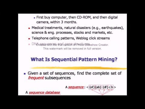 Sequential Pattern Mining  And Spade Algorithm