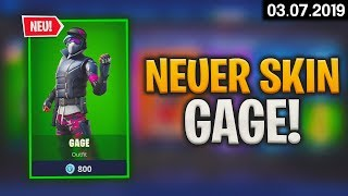 FORTNITE SHOP à partir de 3.7 - 🤔 Gage Skin! 🛒 Fortnite Daily Item Shop d'aujourd'hui (03 juillet 2019) Detu Detu