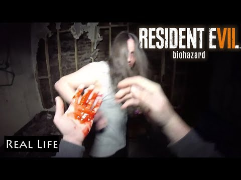 Resident Evil 7 Biohazard In Real Life |