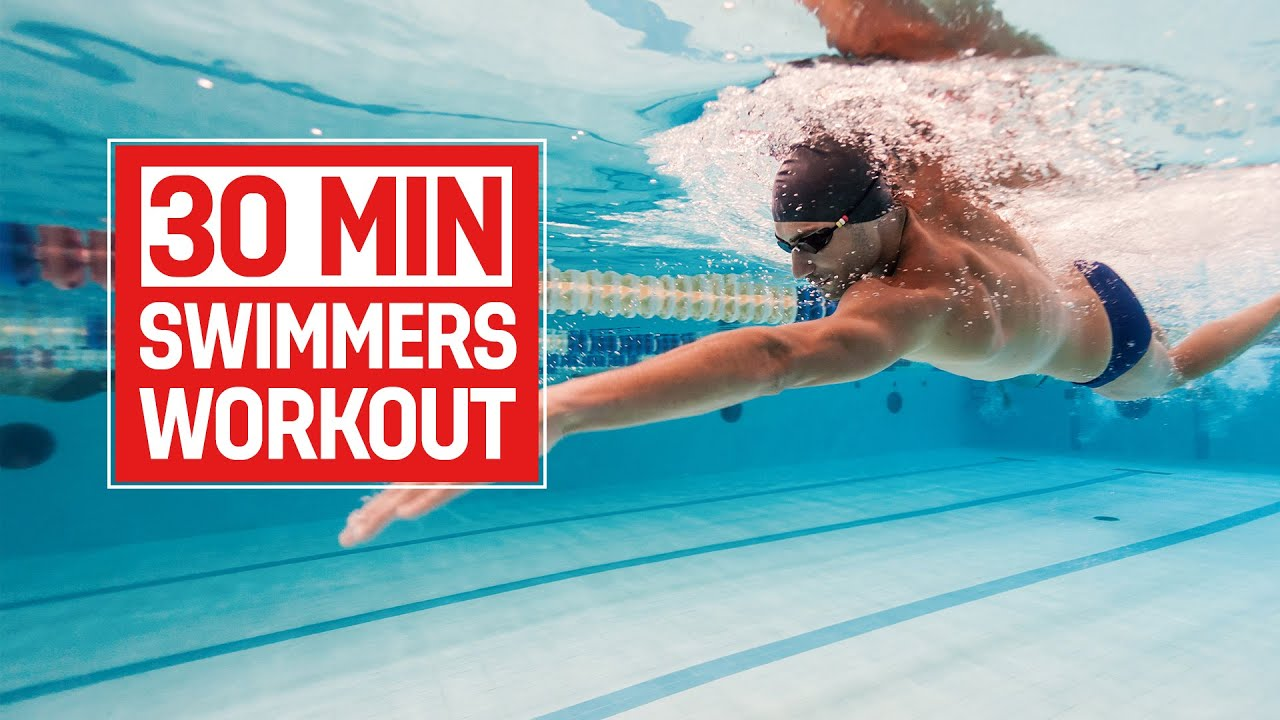 Improve Your Swimming At Home 30 Minute Workout Youtube
