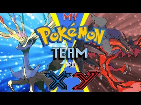 My Favorite Pokemon Team for X and Y