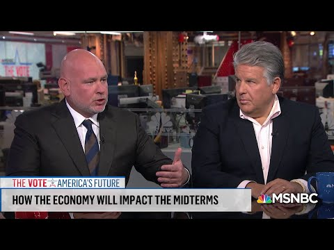 Why Aren't Republicans Focused On The Economy Ahead Of Midterms? | Velshi & Ruhle | MSNBC