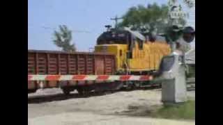 Milwaukee Railfanning #3: UP scrap train goes home to Butler, WI