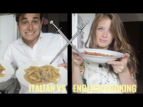 Italian vs English cooking