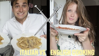 Italian vs English cooking