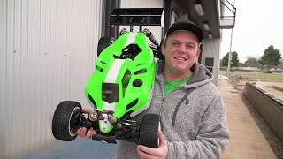What's New: TLR 5IVE-B 1/5 Brushless 4WD Buggy - Customer Build