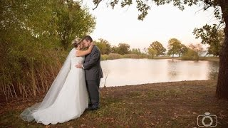 Caitlin + Tanner's wedding at Post Oak Lodge in Tulsa, OK