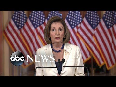 The Debrief: Pelosi makes impeachment announcement, Paris protests and more | ABC News