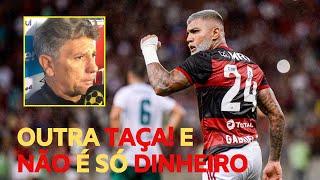 Flamengo ganha 2ª taça em 6 dias. E pode levar outra 4ª feira. Grêmio de Renato perde para o Caxias